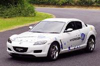 【東京モーターショー2003プレビュー】マツダ・RX-8ハイドロジェンRE&RENESIS水素ロータリーエンジンの画像