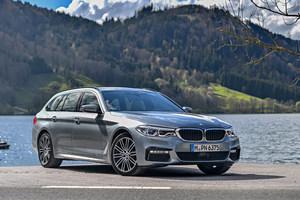 BMW 530dツーリング(FR/8AT)/520dツーリング(FR/8AT)【海外試乗記】