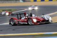 優勝したNo.9 アウディR15 TDI。予選でアウディのトップタイムを出した同車は、決勝後半で先頭に踊り出るや、そのまま盤石の走りでゴールを迎えた。