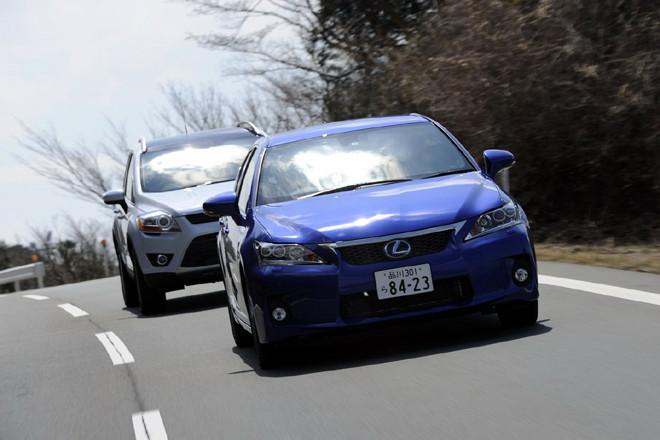 フォード・クーガ/レクサスCT200h/MINIクロスオーバー(後編)【試乗記】