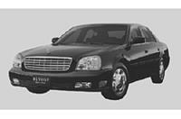 モデル末期の「キャデラック・ドゥビル」にヤナセ仕様の限定車の画像