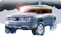 【ジュネーブショー2006】日産、研究室風車内のコンセプトカー「テラノート」出展