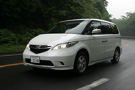 ホンダ・エリシオンG FF/VX 4WD(5AT/5AT)【短評(後編)】
