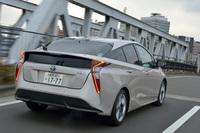 2015年12月に発売された新型「プリウス」。トヨタの次世代技術「TNGA」を採用した最初のモデルである。