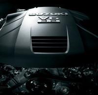 新開発の3.2リッターV6エンジン。