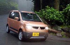 三菱eKアクティブ VT(4AT)【試乗記】