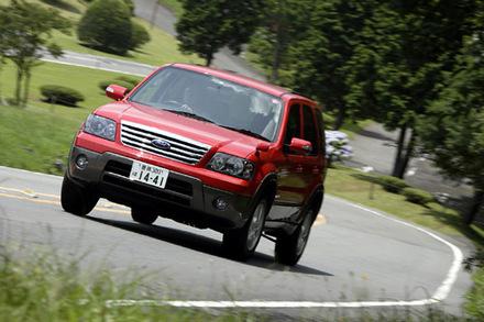 フォード・エスケープXLT(4WD/4AT)【試乗記】