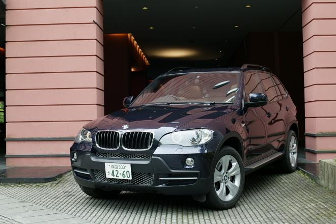 BMW X5 3.0si(4WD/6AT)/4.8i(4WD/6AT)【短評(前編)】
