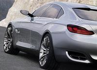 BMWの新型コンセプトモデルは、4ドアGT×スポーツカー【上海ショー07】の画像