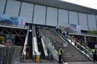 会場となった国家会展中心の様子。