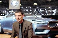 ボルボ・カー・コーポレーションでデザイン担当上級副社長を務めるトーマス・インゲンラート氏。
