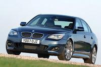 2007年6月30日にマイナーチェンジされた「BMW 5シリーズ」。