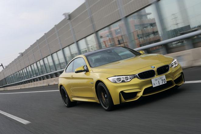BMW M4クーペ(FR/7AT)【試乗記】