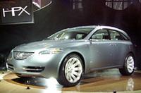 【ニューヨークショー2003】レクサスの高級SUV「HPX」