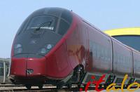 NTV社の高速列車「イタロ号」。