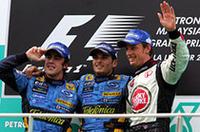 【F1 2006】第2戦マレーシアGP、フィジケラV、ルノー史上2回目/24年ぶりの1-2フィニッシュの画像