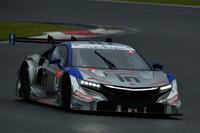 2014年シーズン初の勝利を手にした、山本尚貴/フレデリック・マコヴィッキィ組のNo.18 ウイダー モデューロ NSX CONCEPT-GT。