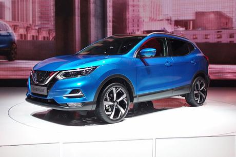 日産自動車はジュネーブモーターショー2017で、欧州向けSUV「キャシュカイ」のマイナーチェンジモデルを発...