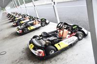 今回のメディア対抗カート大会は、静岡県御殿場市にあるレーシングカートコース、オートパラダイス御殿場で開催された。