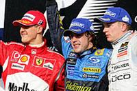 【F1 2006】開幕戦バーレーンGP、新旧チャンプ対決はアロンソに軍配の画像