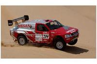 日産、2004年「パリダカ」体制発表、マクレーらが砂漠に挑戦!の画像