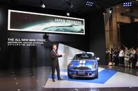 独BMW AGのセールス&マーケティング担当上級副社長イアン・ロバートソン氏が、BMWブースに続いてスピーチを行った。