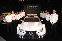 SUPER GT GT500の車両は、昨年までと同じく「レクサスRC F」。トヨタはLEXUS GAZOO Racingとして、TRDを通じて各チームを支援するとしている。