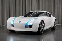 日産、EVのスポーツカー「ESFLOW」を出展【東京モーターショー2011】
