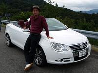 第286回:VWイオス淡路島試乗これはツウなオレ流オープンカーだ!(小沢コージ)の画像