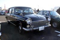 コンクールデレガンスの対象となったいすゞ車の1台。1962年にデビューしたいすゞ初のオリジナル乗用車である「ベレル」の64年式「2000スペシャルデラックス」。相当に希少な個体である。
