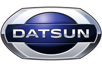 「DATSUN(ダットサン)」ブランドの新しいロゴ。