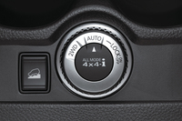 4WDシステム「オールモード4×4-i」のモードセレクター。