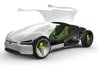 フォルクスワーゲンの次世代のコンセプトカー「ego」。