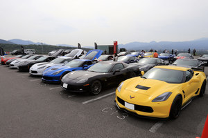 「CHEVROLET FAN EVENT 2018」の会場から