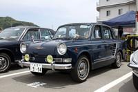 「ルノー4CV」のライセンス生産の経験をもとに作られた日野初のオリジナル乗用車が「コンテッサ」。その最終型にして国産初のスポーツセダンだった1964年式「コンテッサ900S」。「大5」のシングルナンバー付きで、コンディションも抜群。