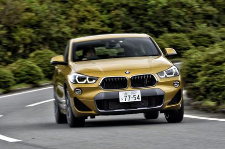 「BMW X2」に追加設定された「xDrive20d MスポーツX」に試乗。既発の「xDrive18d」比で+40PSとなる190PSの...