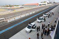 試乗会が行われた大鵬湾国際サーキット。メインコースの全長は3527m。