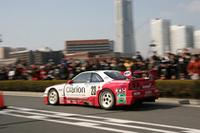 1996年のルマン24時間に参戦した「ニスモGT-R LM(R33)」。和田孝夫がステアリングを握った。