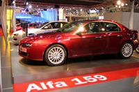 近日発売といわれた「アルファ159」