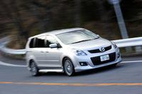 写真は、マツダ・スピードのオプション装備車。