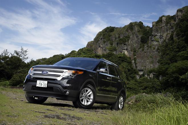フォード・エクスプローラー XLT(4WD/6AT)【試乗記】