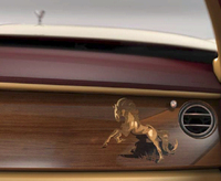 馬があしらわれたロールス・ロイス、限定発売の画像