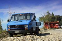 電子書籍『イタリア式クルマ生活術』から。アルファ・ロメオのトラック。