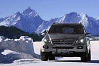 メルセデス・ベンツが一般を対象に雪上試乗会を開催