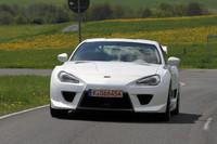 トヨタが新型のスポーツ・コンセプトカーを展示
