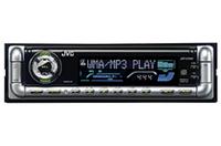 CDプレーヤーには同じ価格ながらユニークな別デザインの「KD-C444」もある。このデザインにもブラック仕様がある。