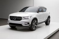 小型SUVの将来を示す「ボルボ・コンセプト40.1」。