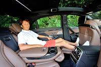 「谷口信輝の新車試乗」――メルセデス・ベンツS300hロング(前編)の画像