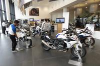 二輪車「BMWモトラッド」のエリア。
