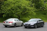 9代目となる今回の「アコード」は、日本ではハイブリッド専用車種として販売される。